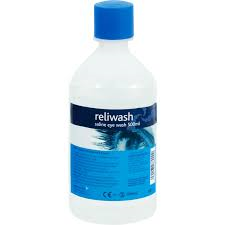Eye Wash Refill Bottle 500ml Manchester Cleaning Supplies